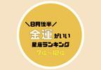 「管理」が重要!8月後半【金運がいい】星座ランキング<7位〜12位>