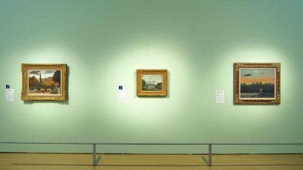 ポーラ美術館ルソー、フジタ、写真家アジェのパリ ー 境界線への視線