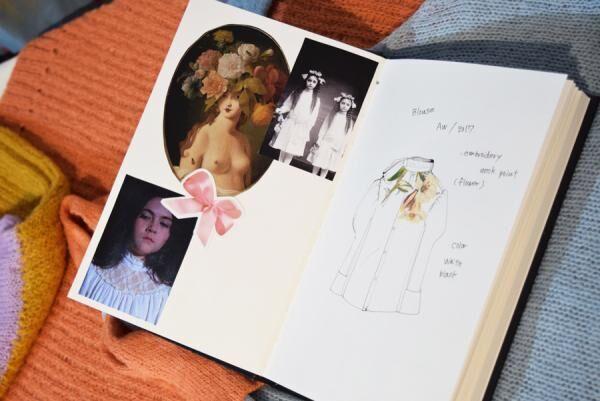"""EAUSEENON 2017年秋冬コレクション """"The Inocents"""" - 物語は最後に咲く"""