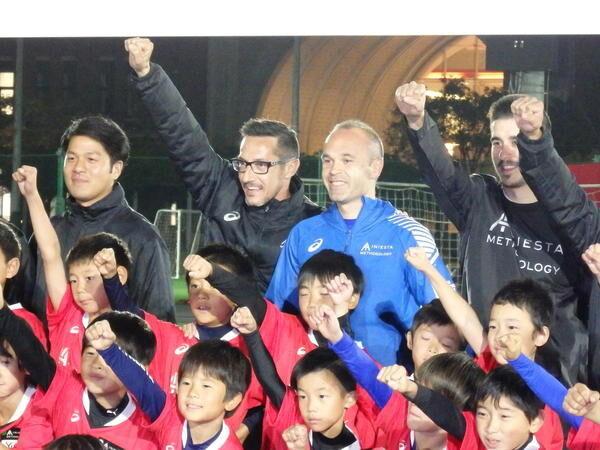 「サッカーの理解の仕方を教えたい」イニエスタが日本の子どもと共有したいこと