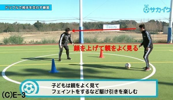 【初心者向け】ドリブルで相手をかわせるようになる練習|サッカー3分間トレーニング