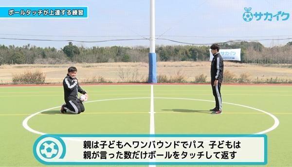【初心者向け】ボールタッチが上達する練習|サッカー3分間トレーニング
