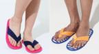 汗をかいてもすぐ洗える!「ビーチサンダル型室内履き」で夏のスリッパ問題を解決