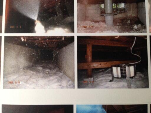 中段左:調湿材/中段右:換気扇