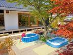 庭のフリースペースを活用した夏の過し方【旅館みたいな平屋暮らし】