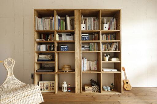 フリールームの本棚