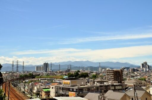 東京の郊外