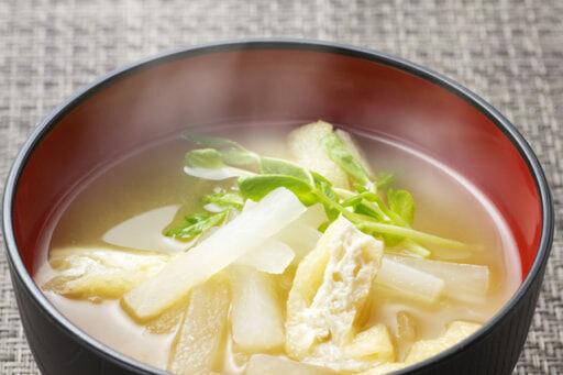 野菜入り味噌汁