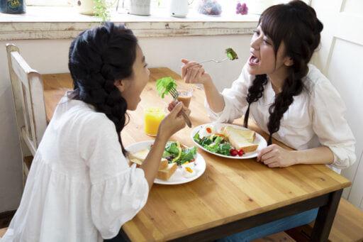 野菜好きな子