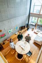 家好き芸人、アンガールズ・田中さんが建築家の自邸を突撃取材!vol.3【住まいの設計2019年2月号】