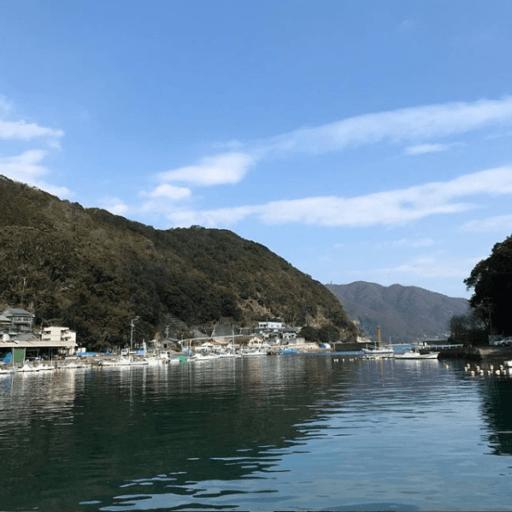 三重県尾鷲市の小さな漁村