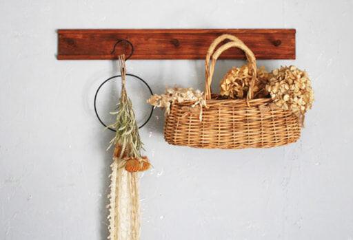 3種類の工作板で本格的「木製ウォールフック」をDIY!
