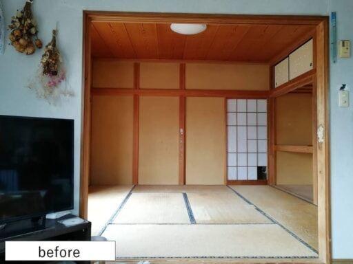 純和風な8畳の和室