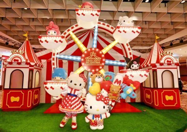 シンガポールにハローキティのテーマパークが期間限定でオープン
