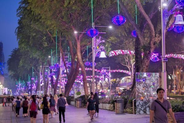 シンガポールに東南アジア最大級の幻想的なクリスマスイルミネーション点灯