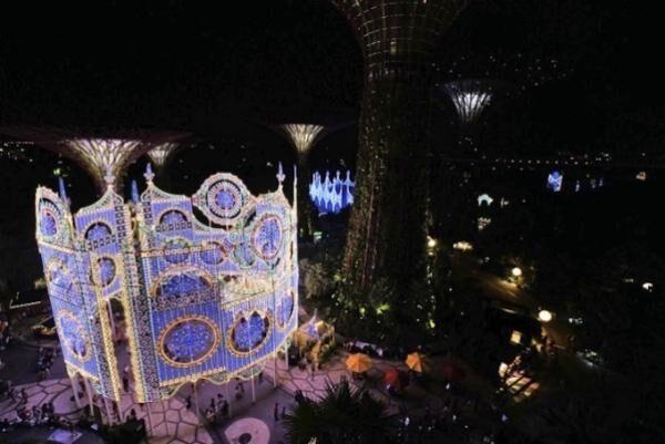 シンガポールのクリスマス新名所「クリスマス・ワンダーランド」