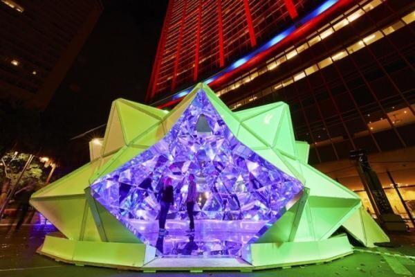 シンガポールの夜を彩る光の祭典「i Light Marina Bay」