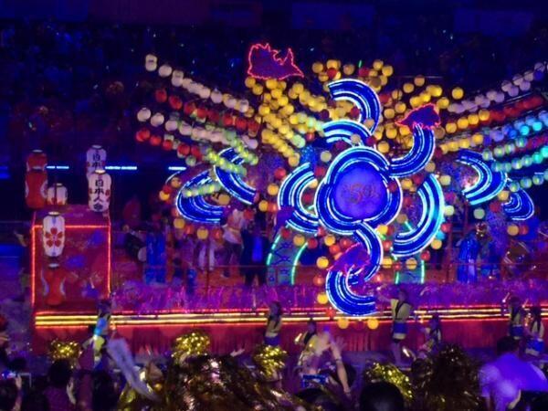 旧正月を祝うシンガポール最大のパレードに潜入!!