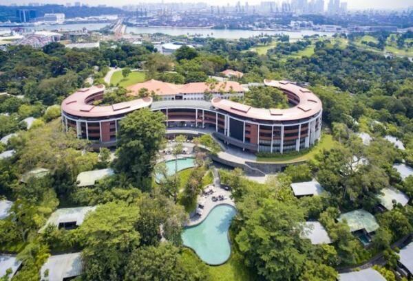 Capella Singapore_Aerial View