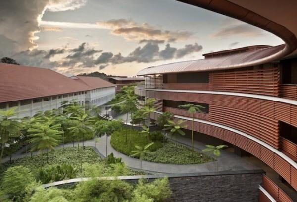 Capella Singapore_Courtyard Daybreak Hi Res