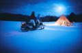 星野リゾート トマム「月光スノーモービルツアー」初開催