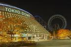 東京ドームで年に一度のナイトヨガを体験