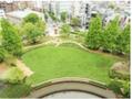 恵比寿ガーデンプレイス・サッポロ広場の芝生で「朝の目覚めヨガ」を開催