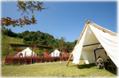 関西初「貸切りグランピング施設」がオープン