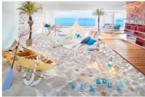 リゾナーレ熱海「ソラノビーチ」期間限定で「海の家ビアガーデン」に変身