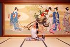 ホテル雅叙園東京で美術品に囲まれた朝ヨガを体験
