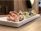 5種類の食べ比べを楽しむ「ジェラート」