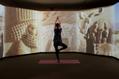 古代オリエント博物館でナイトヨガを体験