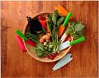 ポップでカラフル「野菜モチーフ」のベジタブルナイフ