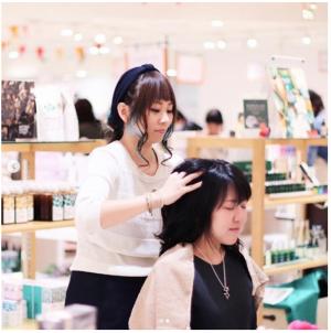 梅田で「すこやか美人フェア」が開催