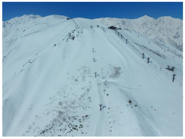「白馬八方尾根スキー場」が冬季営業スタート