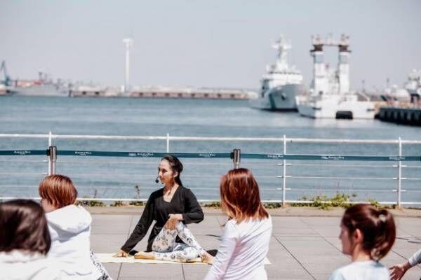 【10月26日・27日】「MARINE YOGA」で海を見ながら外ヨガを楽しもう