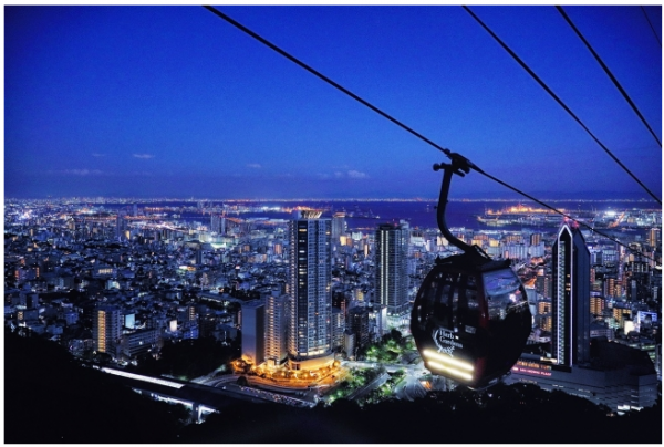 【神戸】「標高400メートル」の幻想的なイルミネーション