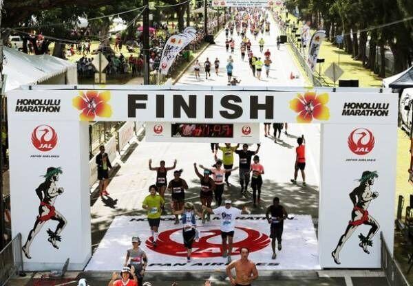 みんなでホノルルを走ろう「JALホノルルマラソン」エントリー開始