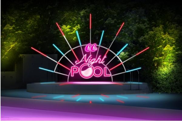 「動画映え」するナイトプールが東京に出現