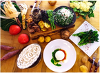 「オーガニック野菜レストラン」で食べ放題企画を実施中