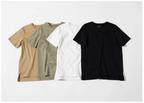 シルクパウダー加工の「Tシャツ」が新発売