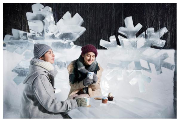 【期間限定】幻想的な氷の街「アイスヴィレッジ」がオープン