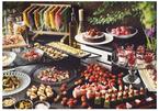 苺のデザートが食べ放題の「期間限定ランチ」