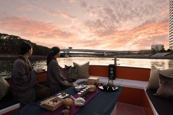 星のや東京、日本の優雅な四季を味わう「舟あそび」体験