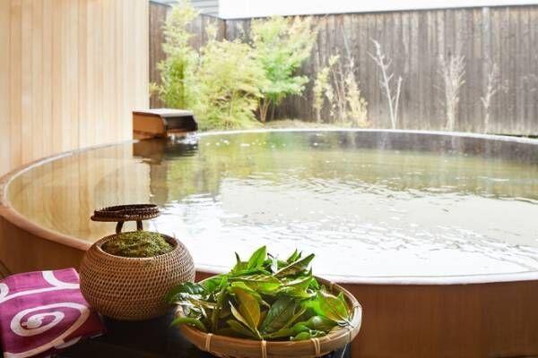 日本茶で心と美を養うを「星野リゾート 界 遠州」