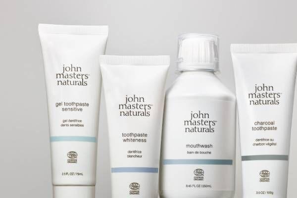 john masters organics初!ナチュラルかつ機能的なオーラルケアシリーズ誕生