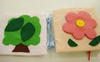 腹帯をリメイクして、手縫いでできる布絵本を作ろう