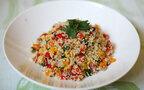 南米のスーパーフード、栄養満点のキヌアのサラダ