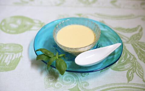 子供も大好き! 甘くて美味しい! とうもろこしと豆乳の冷製スープのレシピ