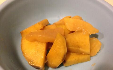 サツマイモとリンゴの甘煮 離乳食にも使えるレシピ